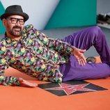 José Corbacho posando en la presentación de 'Tu cara me suena 7' en el FesTVal de Vitoria 2018