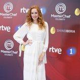 María Castro en la presentación de 'Masterchef Celebrity 3' en el FesTVal de Vitoria 2018
