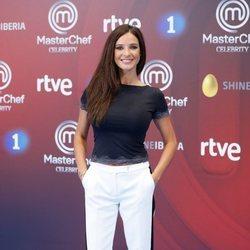 Paula Prendes en la presentación de 'Masterchef Celebrity 3' en el FesTVal de Vitoria 2018