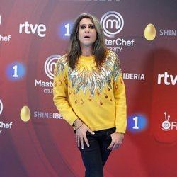 Mario Vaquerizo en la presentación de 'Masterchef Celebrity 3' en el FesTVal de Vitoria 2018