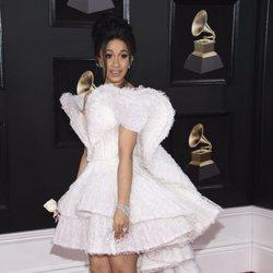 Cardi B en los Premios Grammy 2018