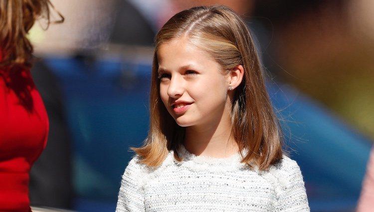 La Princesa Leonor visita Covadonga por primera vez como Princesa de Asturias
