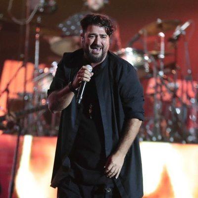 Antonio Orozco en el concierto 'Vive Dial' 2018 en Madrid