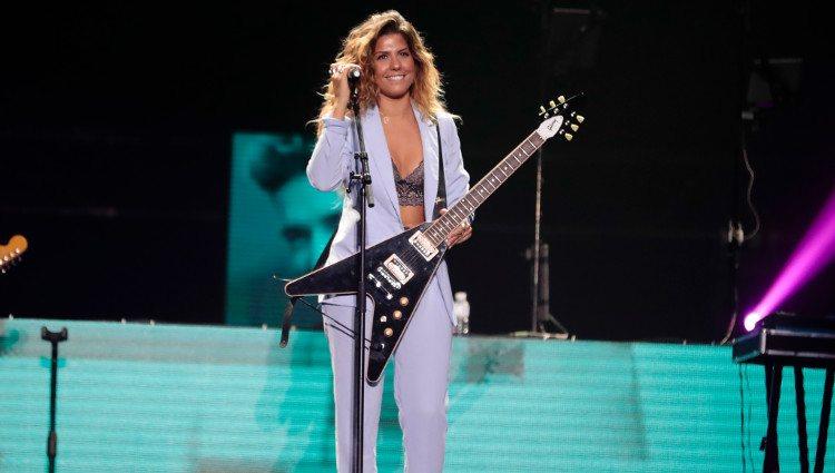 Miriam Rodríguez en el concierto 'Vive Dial' 2018 en Madrid