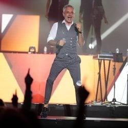 Sergio Dalma en el concierto 'Vive Dial' 2018 en Madrid