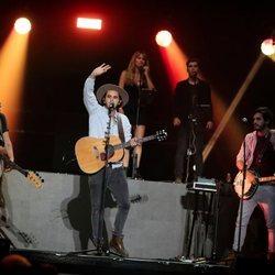 Morat en el concierto 'Vive Dial' 2018 en Madrid
