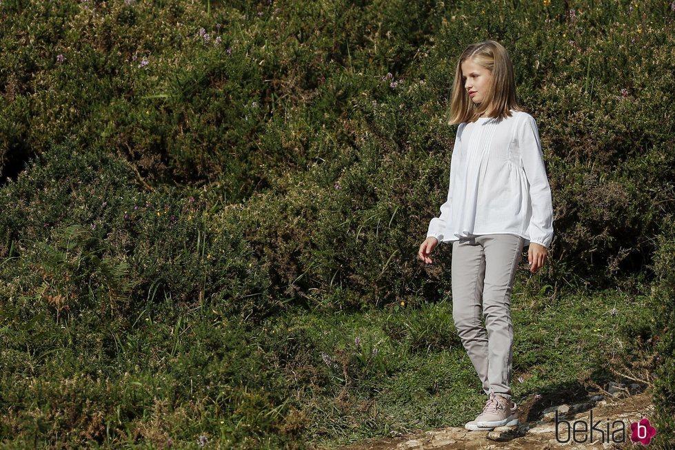 La Princesa Leonor en los Lagos de Covadonga