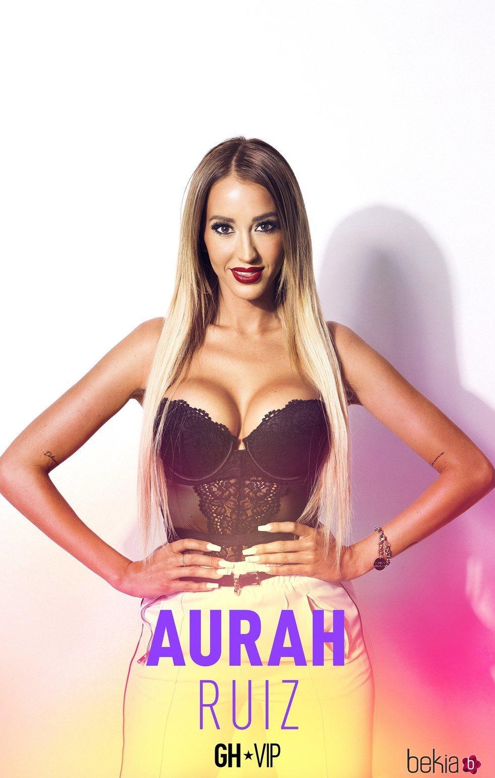 Aurah Ruiz en el posado oficial de 'GH VIP 6'