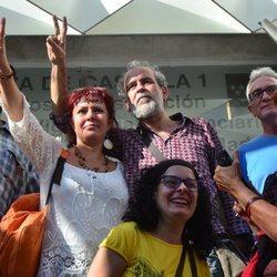 Willy Toledo en libertad tras ser detenido por la Policía
