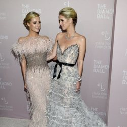 Paris y Nicky Hilton en The Diamond Ball 2018 en Nueva York