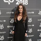 Malú en la cena de nominados de Los40 Music Awards 2018