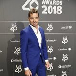 David Bisbal en la cena de nominados de Los40 Music Awards 2018