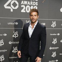 Pablo Alborán en la cena de nominados de Los40 Music Awards 2018