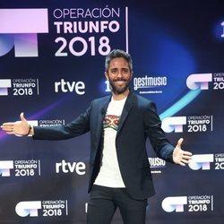 Roberto Leal en la presentación de 'OT 2018'
