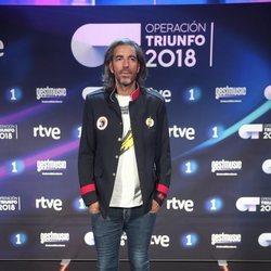 Joe Pérez-Orive en la presentación de 'OT 2018'
