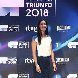 Xuan Lan en la presentación de 'OT 2018'