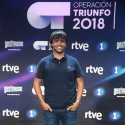 Manu Guix en la presentación de 'OT 2018'