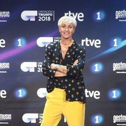Magali Dalix en la presentación de 'OT 2018'