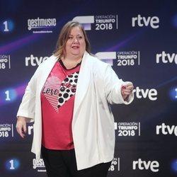 Itziar Castro en la presentación de 'OT 2018'