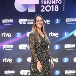 Mamen Márquez en la presentación de 'OT 2018'