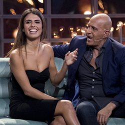 Kiko Matamoros y Sofía Suescun en la primera gala de 'Gran Hermano VIP 6'