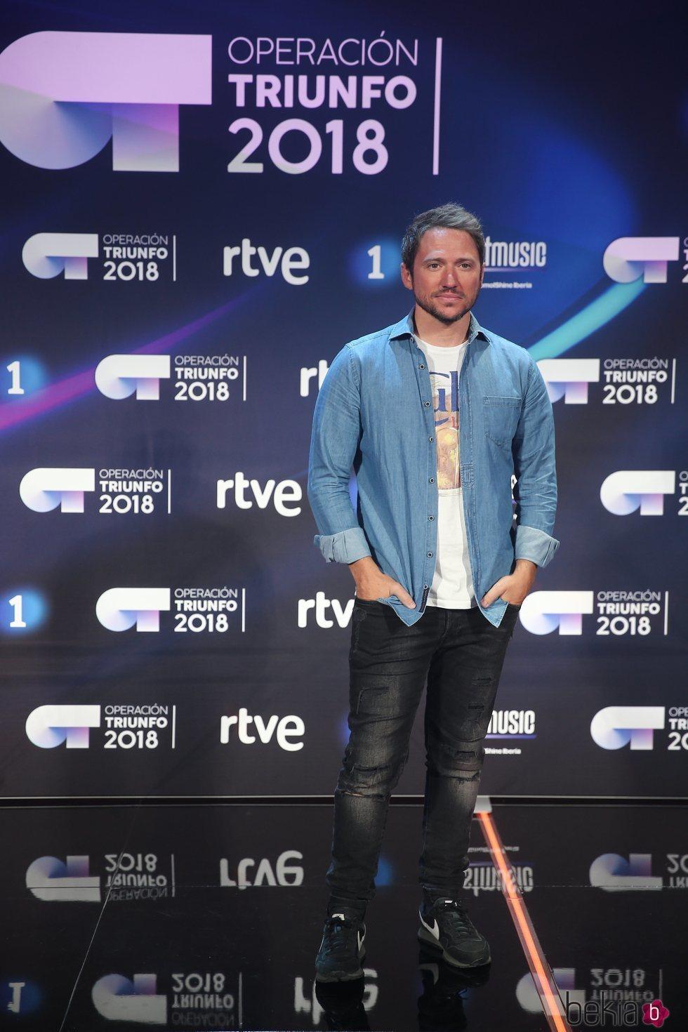 Manuel Martos en la presentación de 'OT 2018'