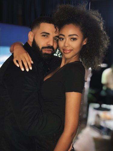 Drake y la modelo Bella B Harris 2018