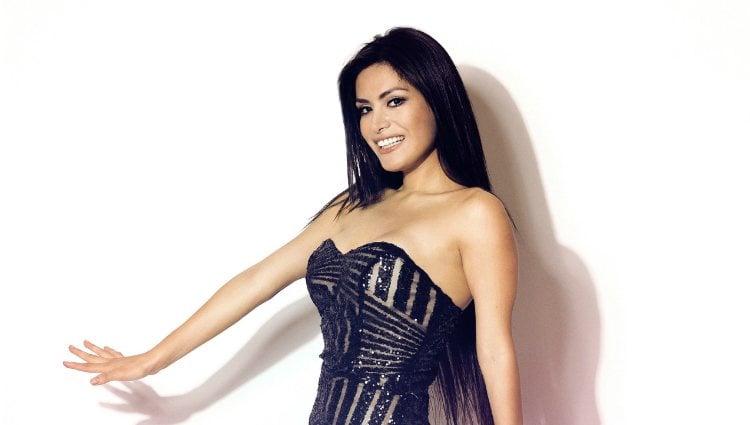 Miriam Saavedra en el posado oficial de 'GH VIP 6'
