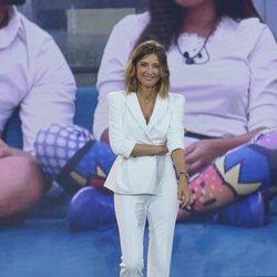 Sandra Barneda en el primer debate de 'GH VIP 6'