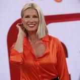 Anne Igartiburu en la presentación de la nueva temporada de 'Corazón'