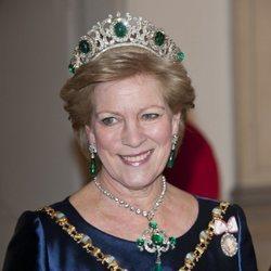 Ana María de Grecia en el 40 aniversario en el trono de Margarita de Dinamarca