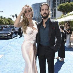 Heidi Klum y Tom Kaulitz en los Premios Emmy 2018
