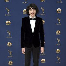 Finn Wolfhard en la alfombra roja de los Premios Emmy 2018