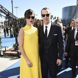 Benedict Cumberbatch y Sophie Hunter a su llegada a los Premios Emmy 2018