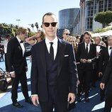 Benedict Cumberbatch a su llegada a los Premios Emmy 2018