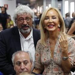Carmen Lomana en un acto de La Razón