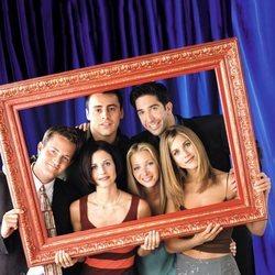 El reparto de 'Friends' en una imagen promocional