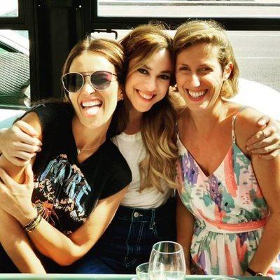 Paula Echevarría, Marta Hazas y Cecilia Freire se reencuentran tras el verano de 2018