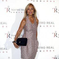 Carmen Lomana en el Teatro Real en la inauguración de la temporada 2018