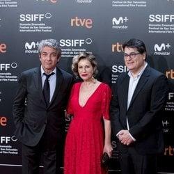 Ricardo Darín, Juan Vera y Mercedes Morán en el Festival de San Sebastián 2018