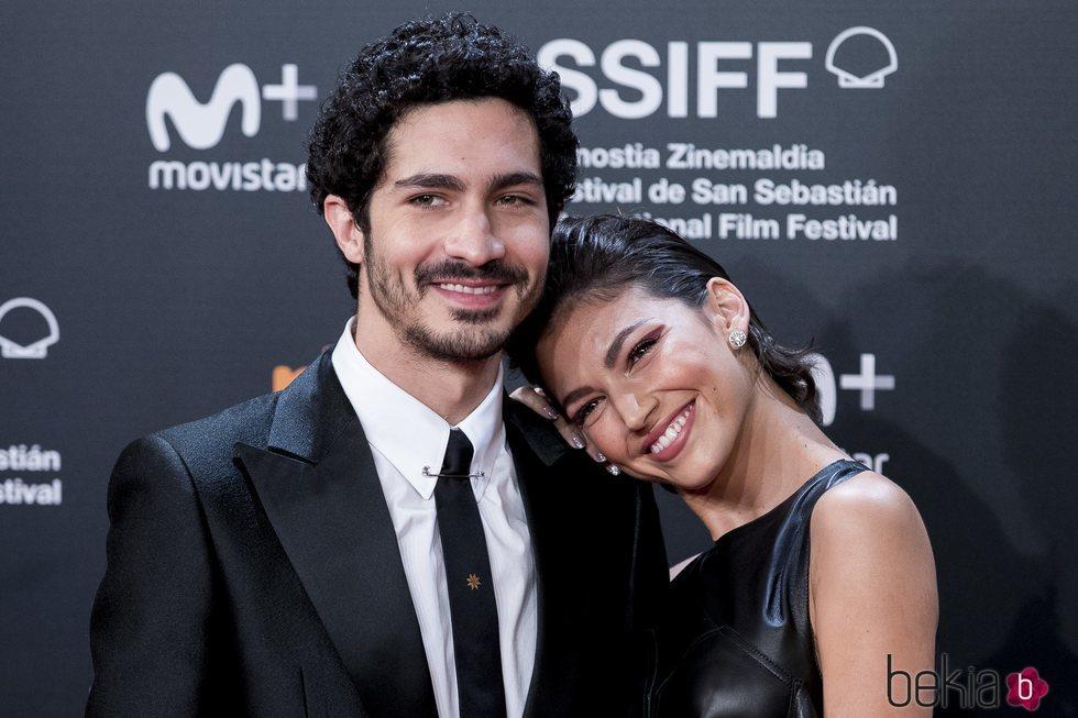 Chino Darín y Úrsula Corberó, muy acaramelados en el Festival de Cine de San Sebastián 2018
