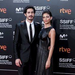 Chino Darín y Úrsula Corberó en el Festival de Cine de San Sebastián 2018