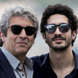 Ricardo y Chino Darín en el Festival de Cine de San Sebastián de 2018