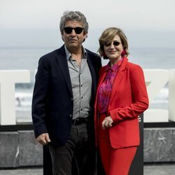 Ricardo Darín y Mercedes Morán en el Festival de Cine de San Sebastián de 2018