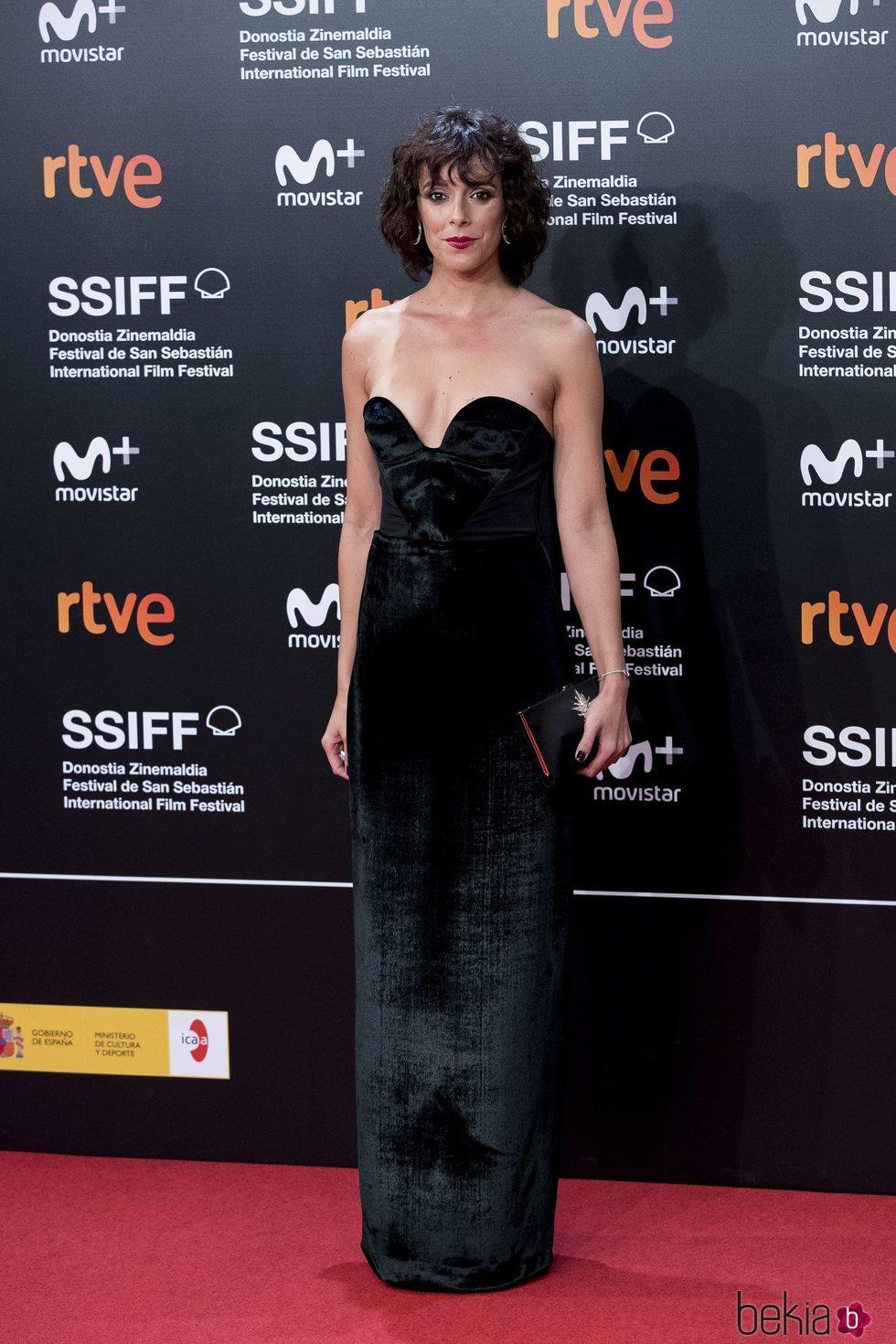 Belén Cuesta en el Festival de Cine de San Sebastián de 2018