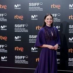 Leonor Watling en el Festival de Cine de San Sebastián de 2018