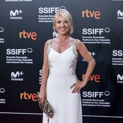 Cayetana Guillén-Cuervo en el Festival de Cine de San Sebastián de 2018