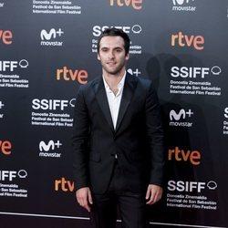 Ricardo Gómez en el Festival de Cine de San Sebastián de 2018