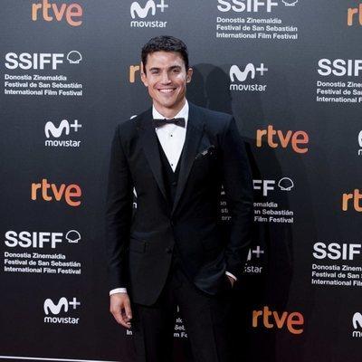 Álex González en el Festival de Cine de San Sebastián de 2018