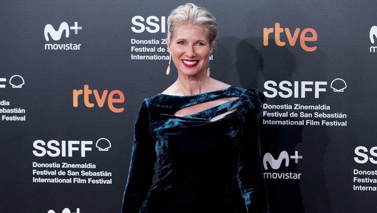 Anne Igartiburu en el Festival de Cine de San Sebastián de 2018